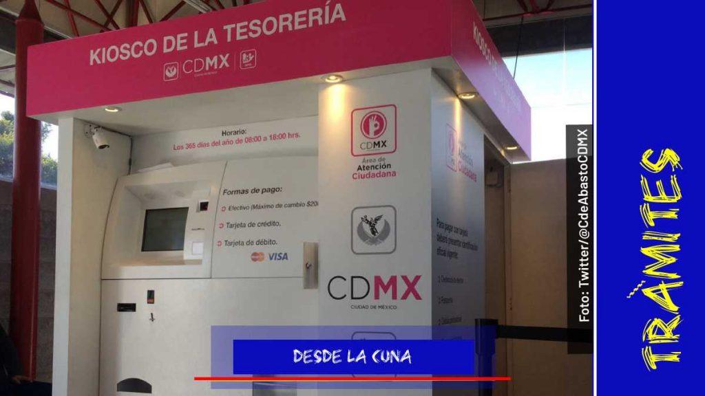 Módulos para sacar actas de nacimiento en la CDMX