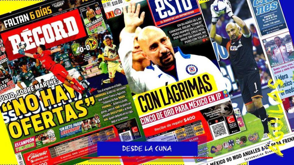 portadas de deportes 28 de julio
