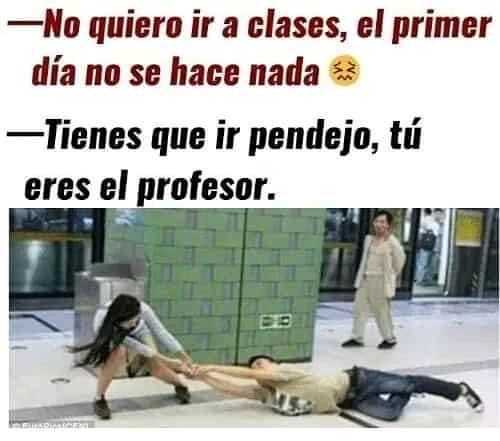 memes del regreso a clases