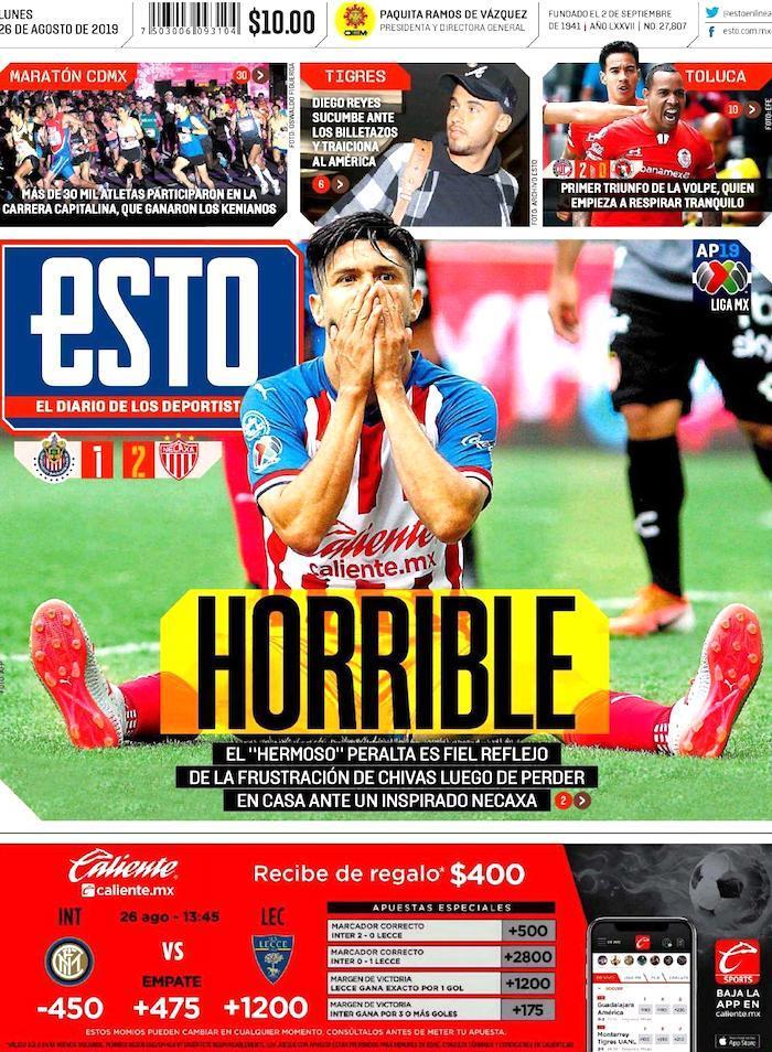 portadas de deportes 26 de agosto
