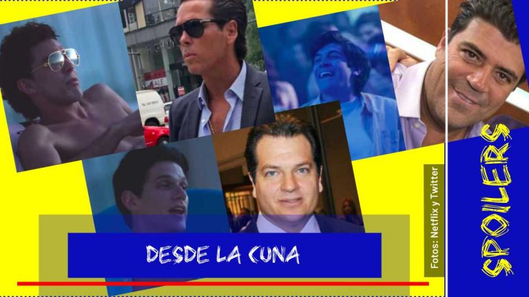 Quiénes son los amigos de Luis Miguel en la serie