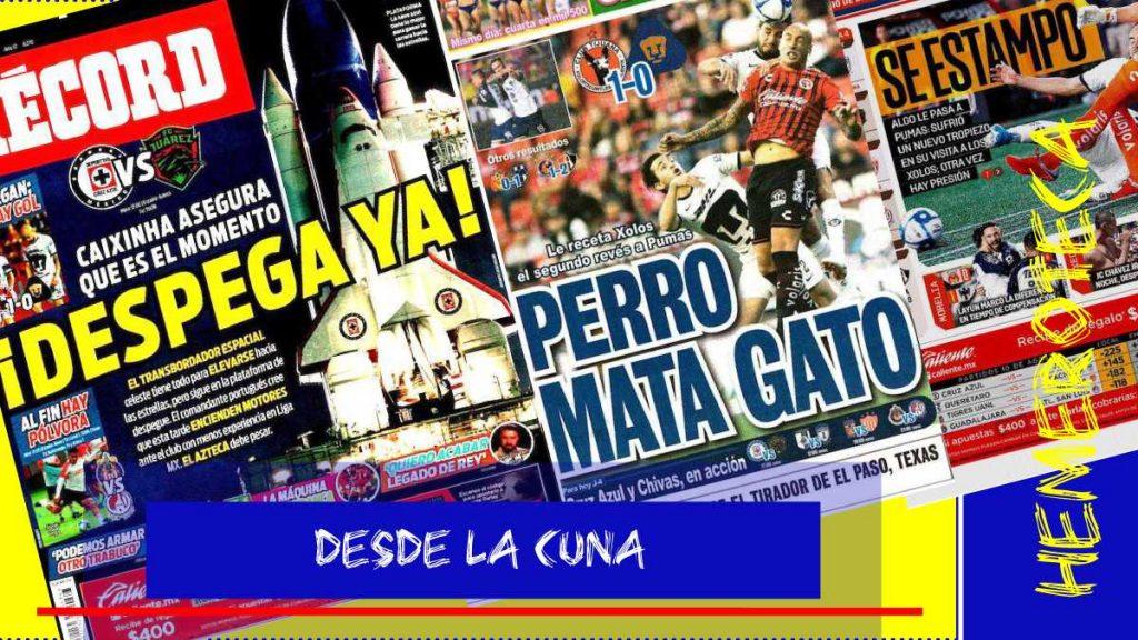 portadas de deportes 10 de agosto