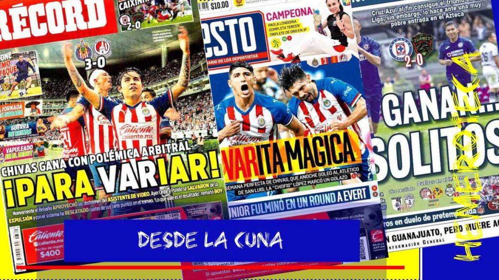 portadas de deportes 11 de agosto