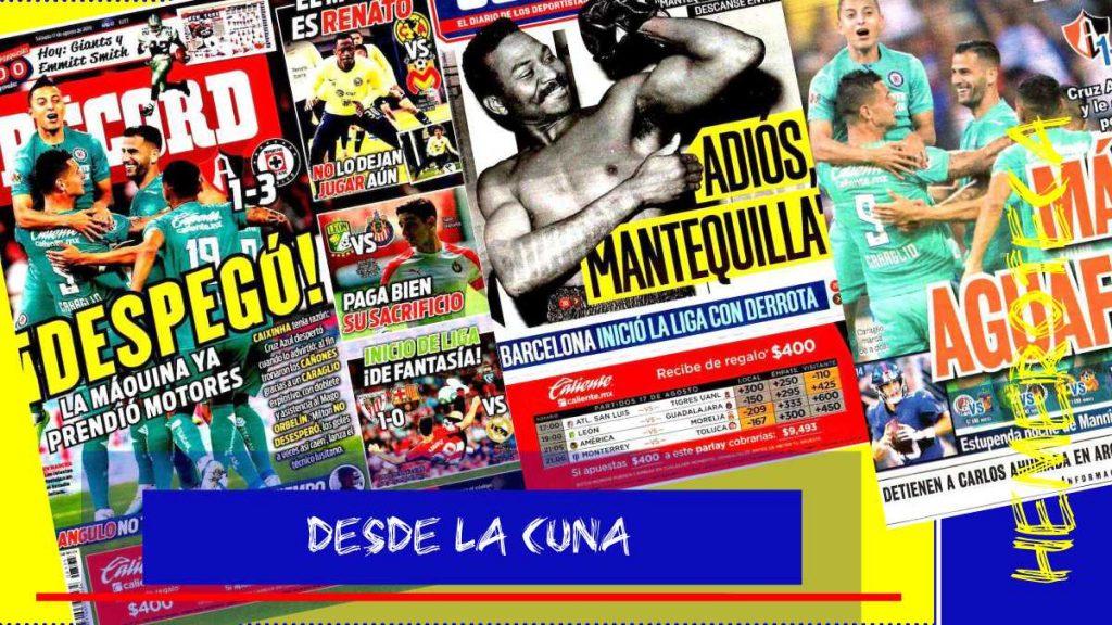 portadas de deportes 17 de agosto