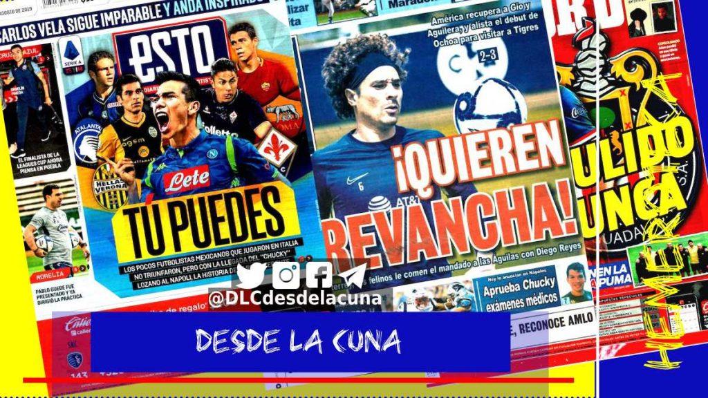 portadas de deportes 22 de agosto