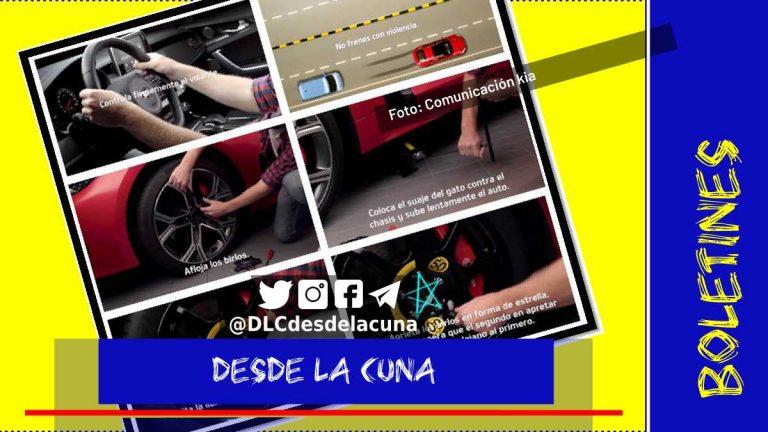 VIDEO. ¿Qué hacer si se poncha una llanta mientras conduces?