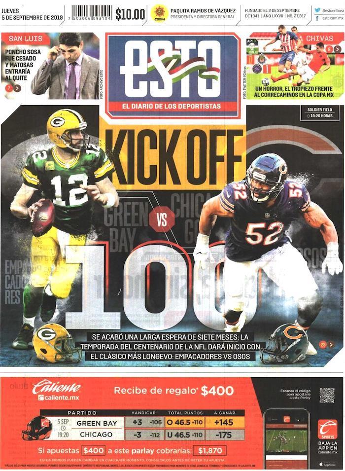 portadas de deportes 5 de septiembre