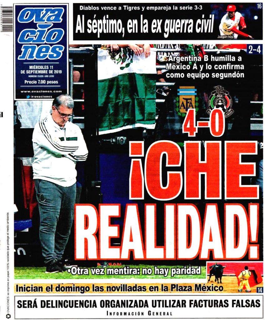 portadas de deportes 11 de septiembre
