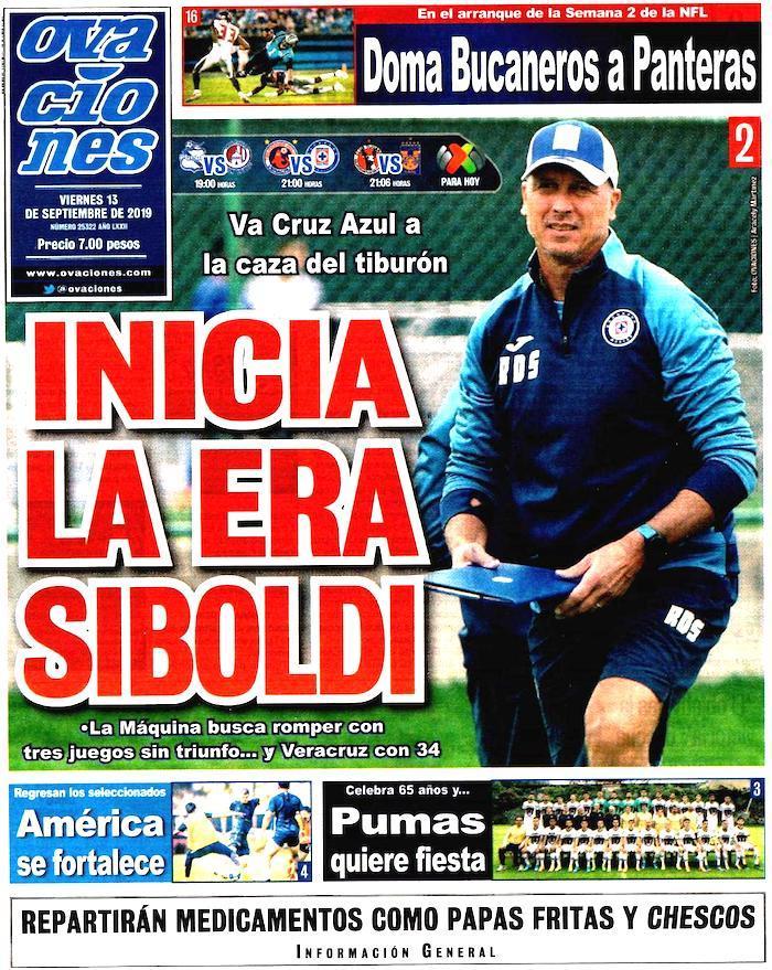 portadas de deportes 13 de septiembre
