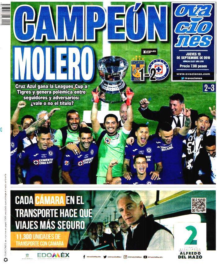 portadas de deportes 19 de septiembre