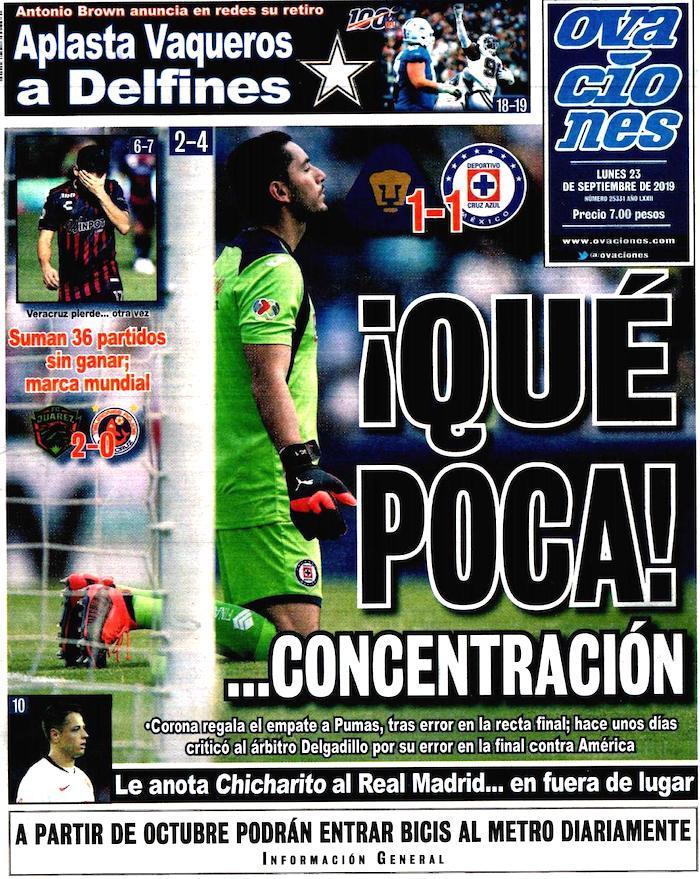portadas de deportes 23 de septiembre
