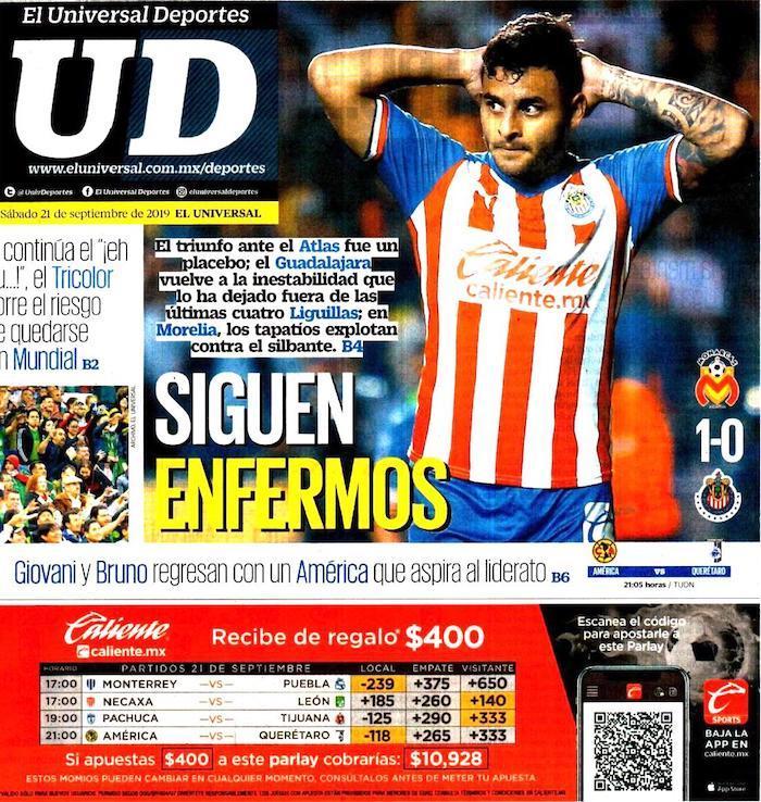 portadas de deportes 21 de septiembre