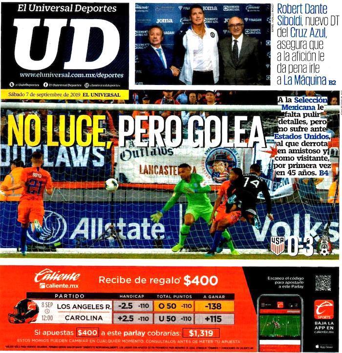 portadas de deportes 7 de septiembre