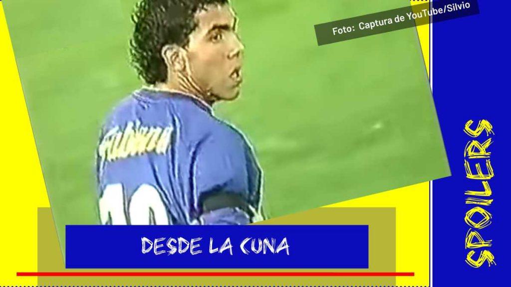 debut de Carlos Tevez con Boca