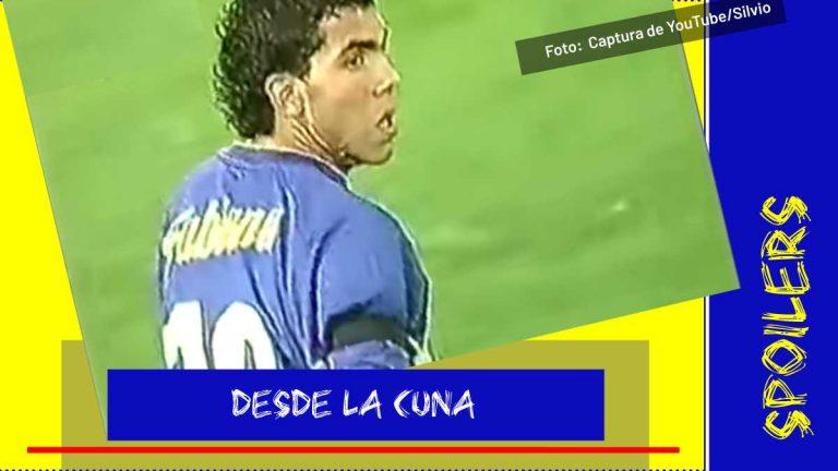 Así fue en la vida real el debut de Carlos Tevez con Boca