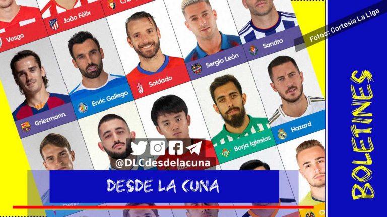 Resumen de los fichajes en La Liga de España