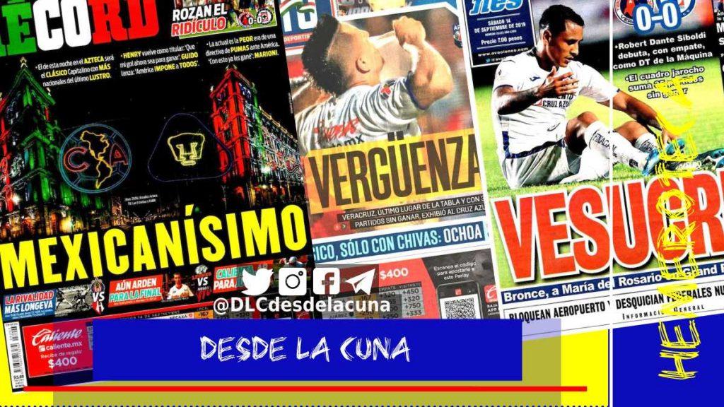 portadas de deportes 14 de septiembre