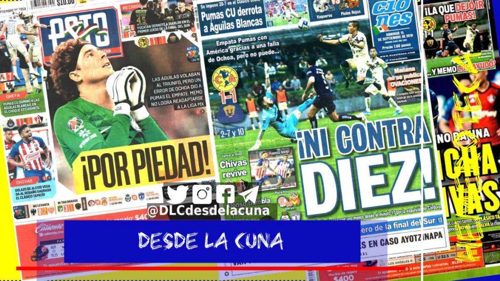 portadas de deportes 15 de septiembre