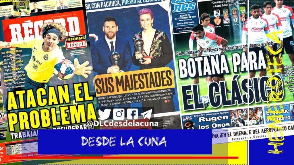 portadas de deportes 24 de septiembre
