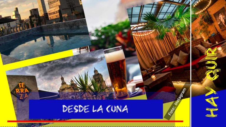 7 terrazas que necesitas conocer en la CDMX