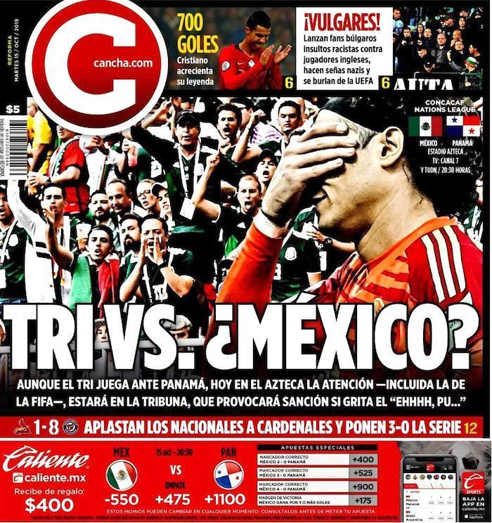 portadas de deportes 15 de octubre