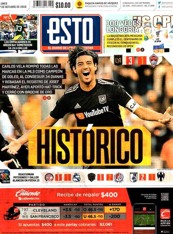 portadas de deportes 7 de octubre