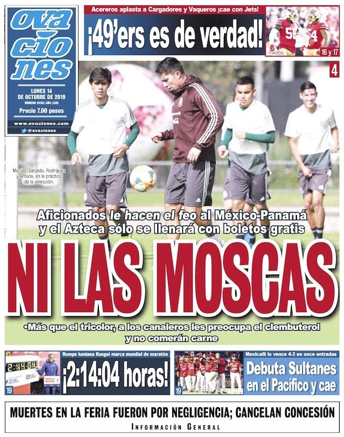 portadas de deportes 14 de octubre