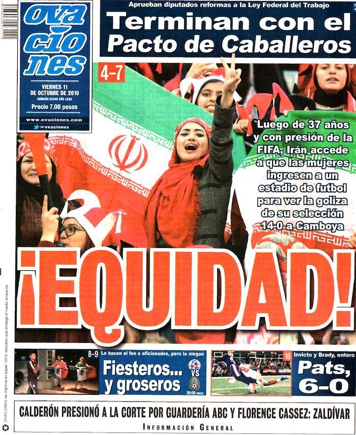 portadas de deportes 11 de octubre