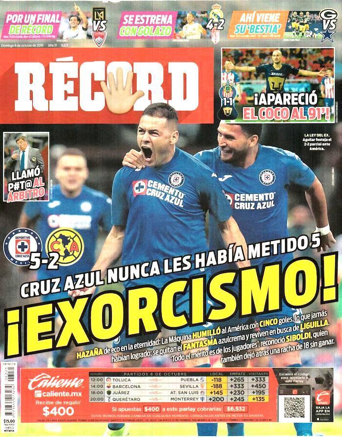 portadas de deportes 6 de octubre