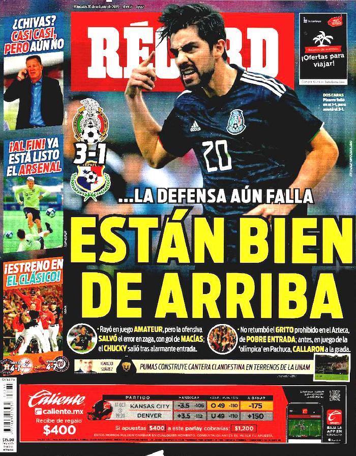 portadas de deportes 16 de octubre