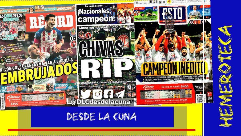 portadas de deportes 31 de octubre