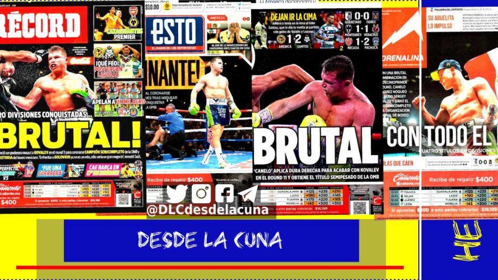 portadas de deportes hoy 3 de octubre de 2019