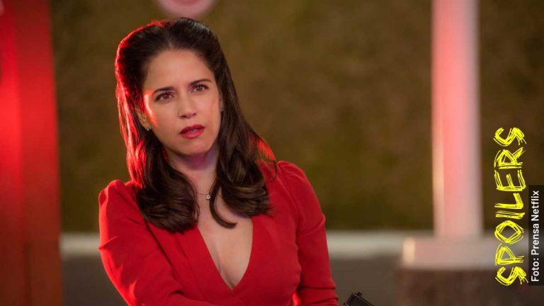 Ella es Ana Claudia Talancón, Raquel en Como Caído del Cielo