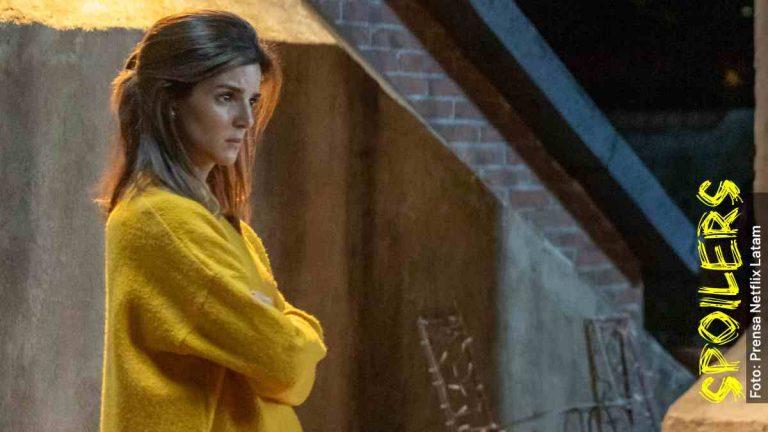 Ella es Lola en El Vecino, serie de Netflix