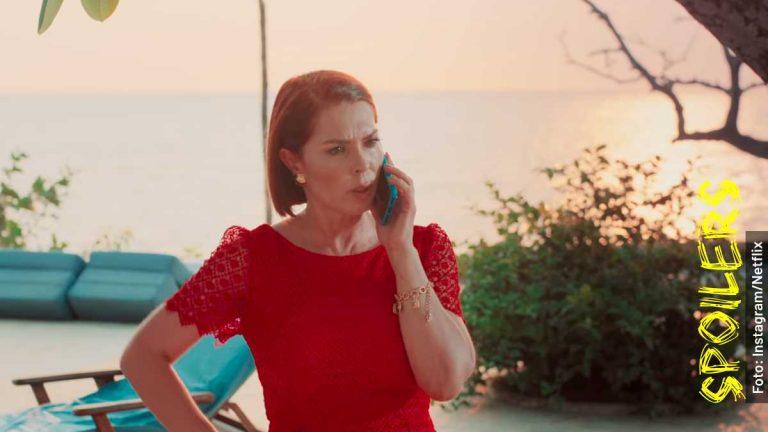Ella es Maribel, la mamá de Tatiana, en Los Briceño