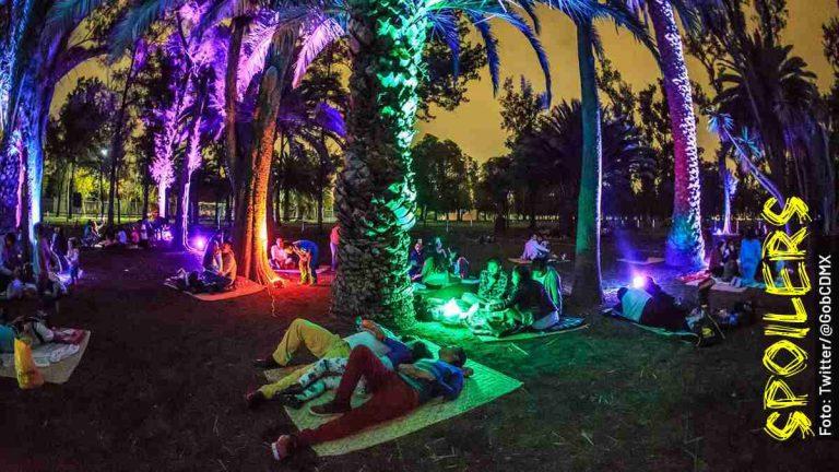 Este es el calendario 2020 de picnic nocturno en la CDMX