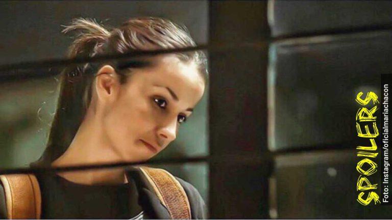 Ella es Rita Franco de adulta en la serie Preso No. 1