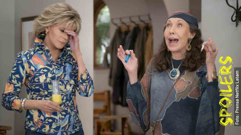 grace and frankie serie capítulos