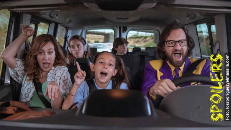 Quién es quién en Los Rodríguez y el Más Allá, película española en Netflix