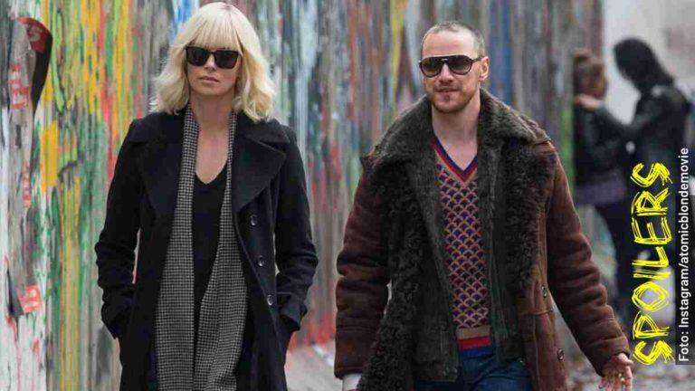Quién es quién en Atómica, película de Charlize Theron en Netflix
