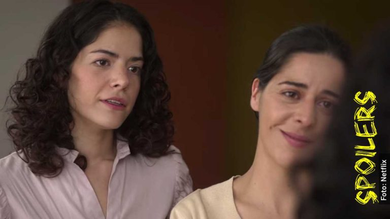 Ella es Arlette Farah, tía de Paulette en La Búsqueda, serie de Netflix