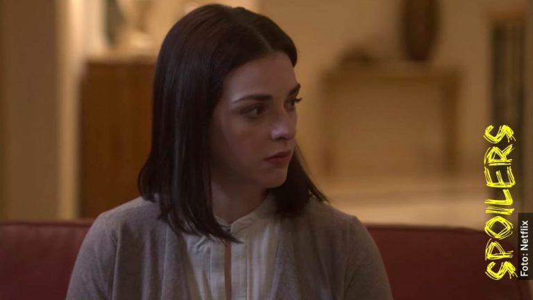 Ella es Raquel, esposa de Bazbaz en La Búsqueda, serie de Netflix sobre Paulette