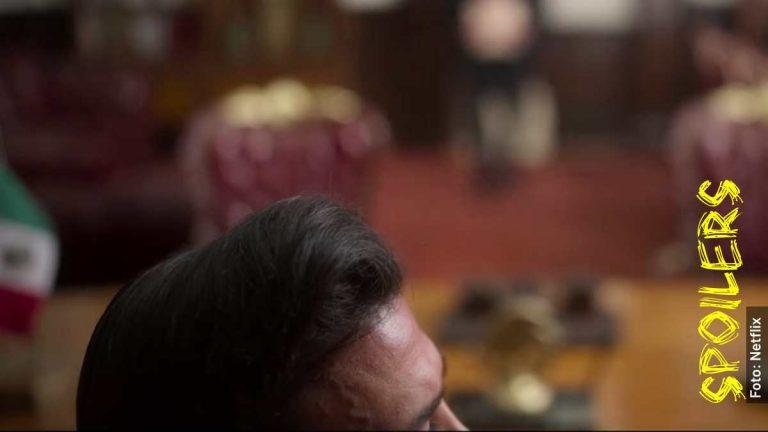 Quién es Enrique Peña Nieto en La Búsqueda, serie sobre Paulette
