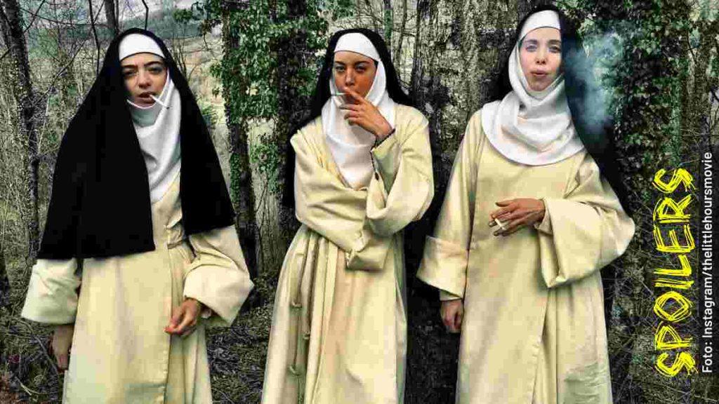 personajes lujuria en el convento película