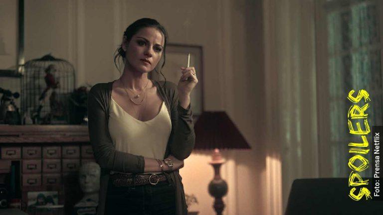 Ella es Alma Solares, Maite Perroni en Oscuro Deseo, serie de Netflix
