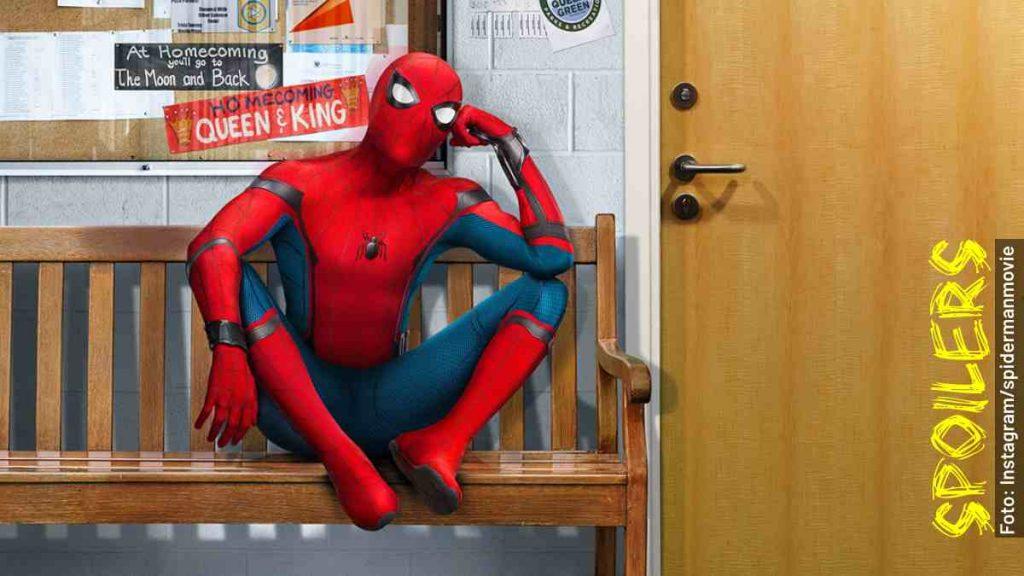 personajes spider-man de regreso a casa película