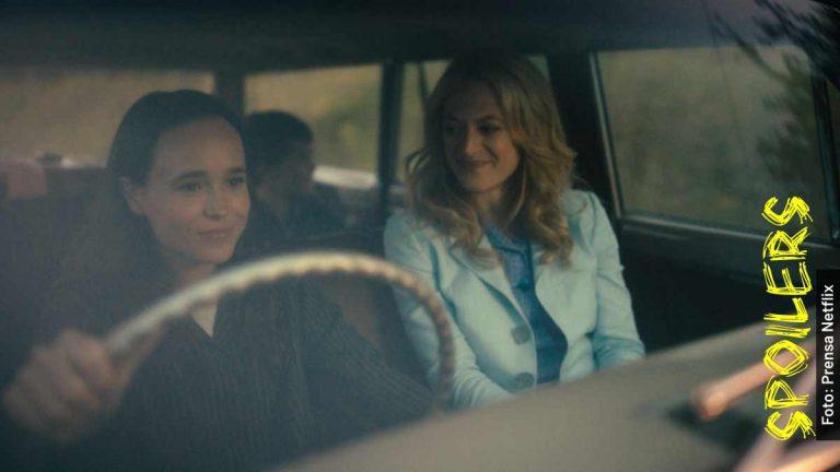 Ella es Sissy en The Umbrella Academy temporada 2
