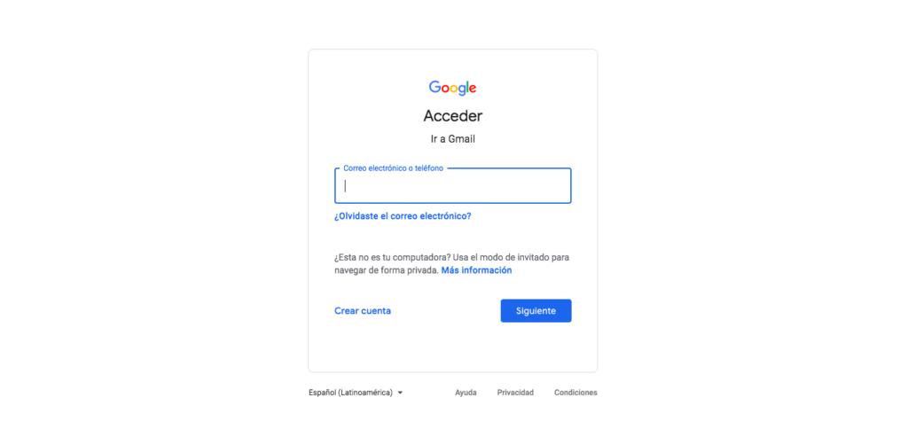 cómo drive abrir en gmail
