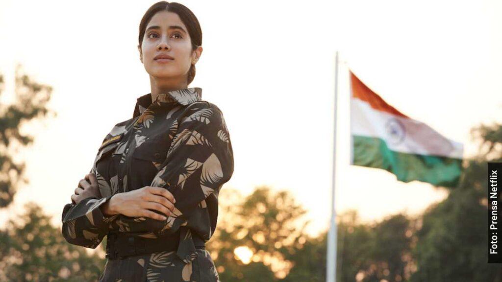 personajes Gunjan Saxena La Chica de Kargil película