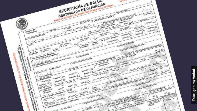 Cómo tramitar una certificación y un acta de defunción